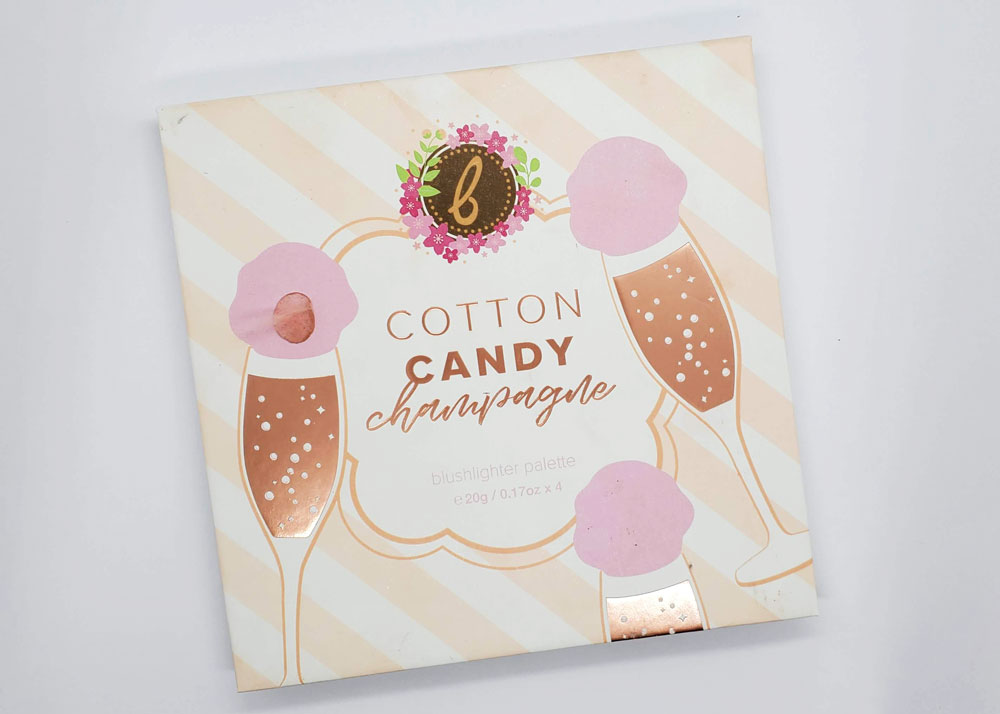 Cotton Candy Champagne Blushlighter Palette