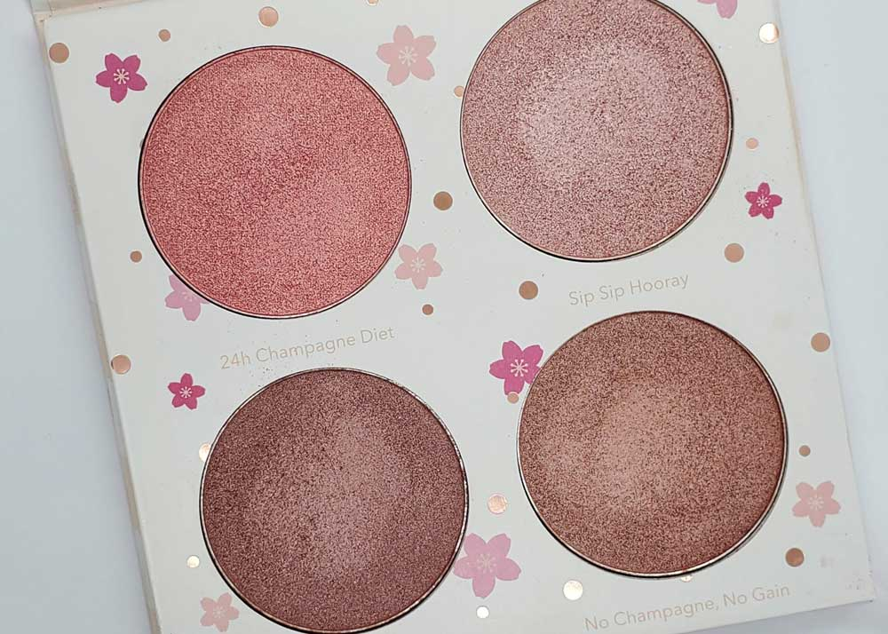 Cotton Candy Champagne Palette