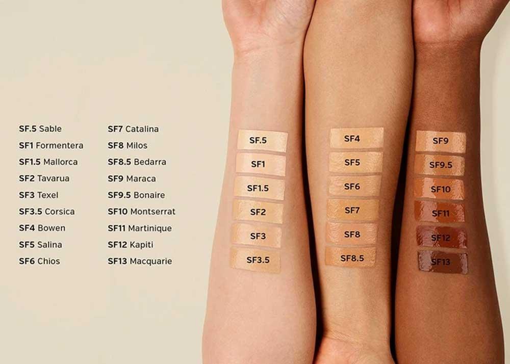 Ilia-True-Skin-Serum-Foundation-Swatches
