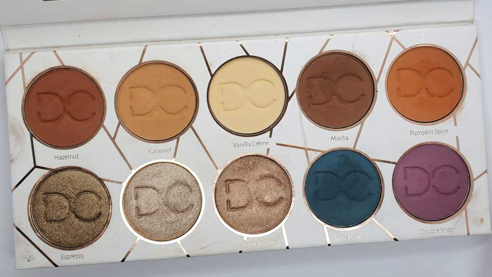Dominique Cosmetics Latte Palette