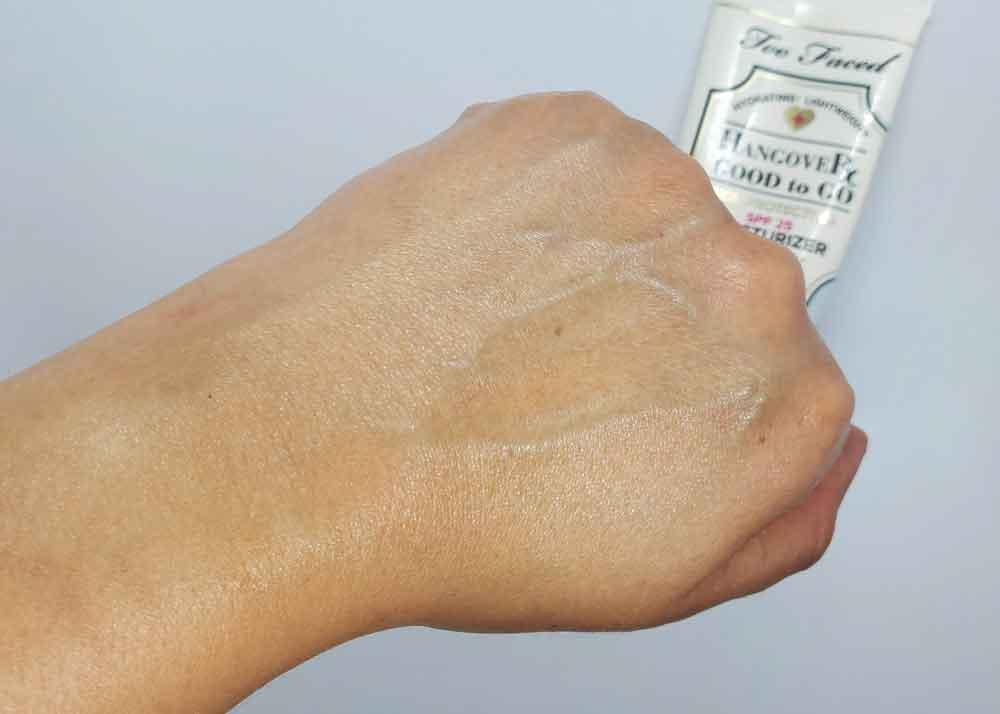 Too Faced Good to Go Sunscreen Moisturizer