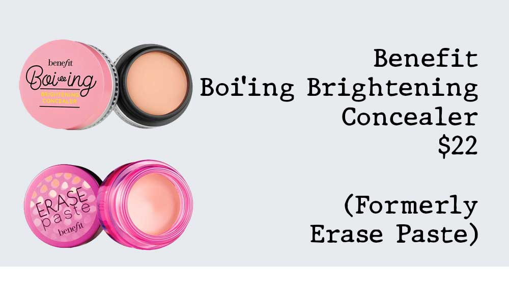 Benefit Boi'ing Brightening Concealer Discontinued