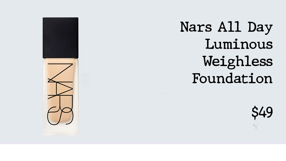 Nars All Day Luminous Weightless Foundation discontinued