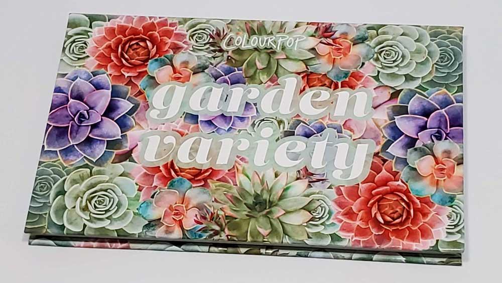 Colourpop Garden Variety Palette Review