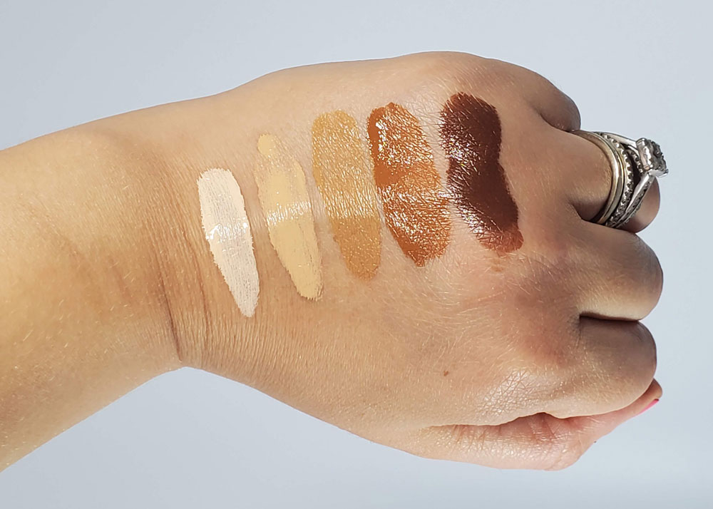 Pat McGrath Sublime Perfection Foundation Swatches