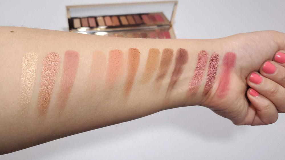 Pillow Talk Eyeshadow Palette Swatches