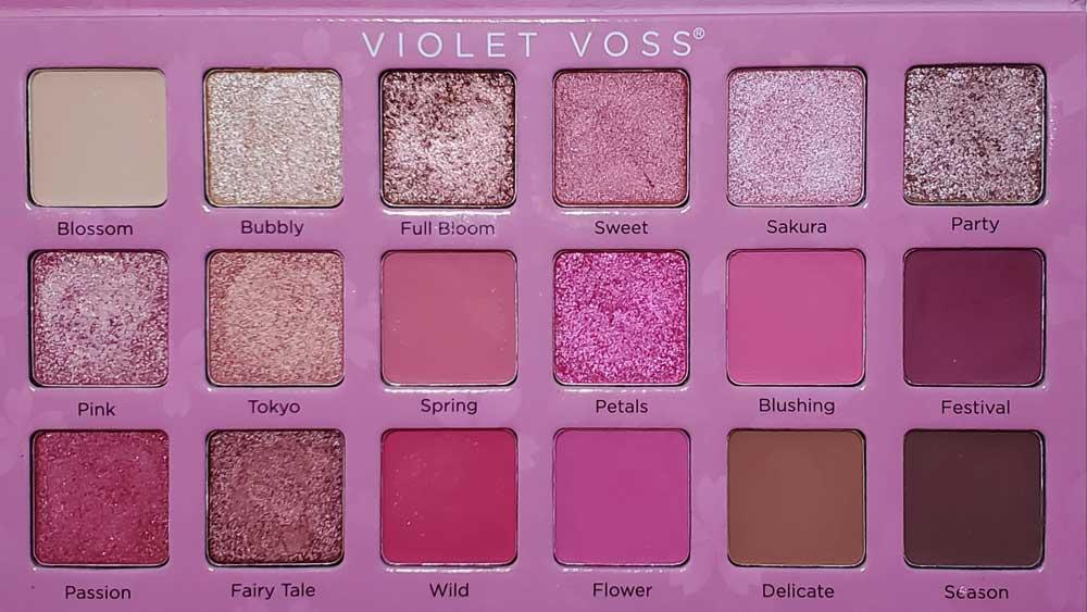 Sakura Blossom Violet Voss