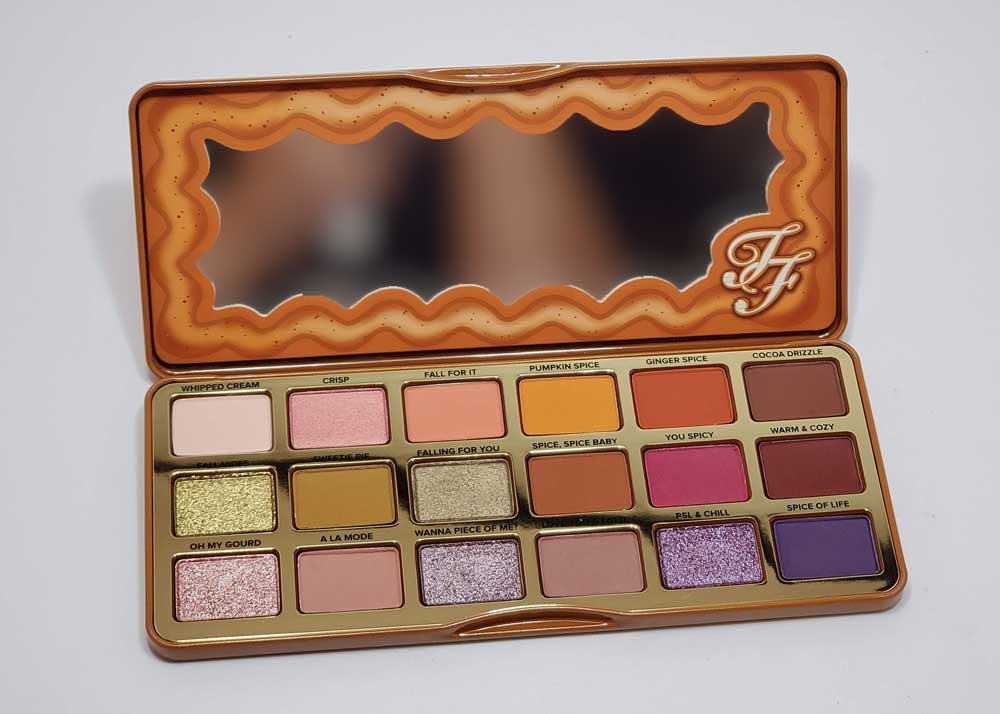Pumpkin Spice Palette Too Faced