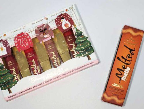 too faced holiday lip kits 2020