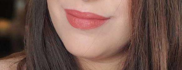 too faced pumpkin spice melted matte lip swatch