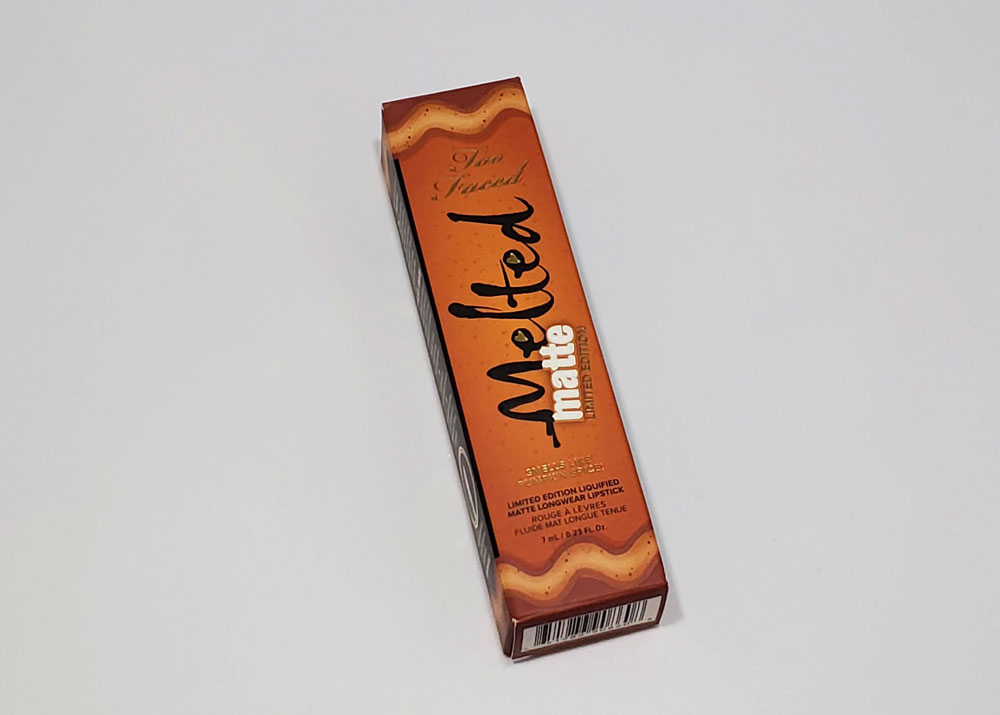 too faced pumpkin spice melted matte liquid lipstick