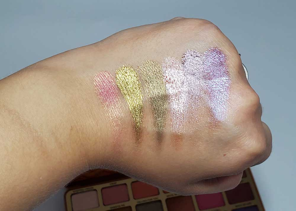 palette swatches