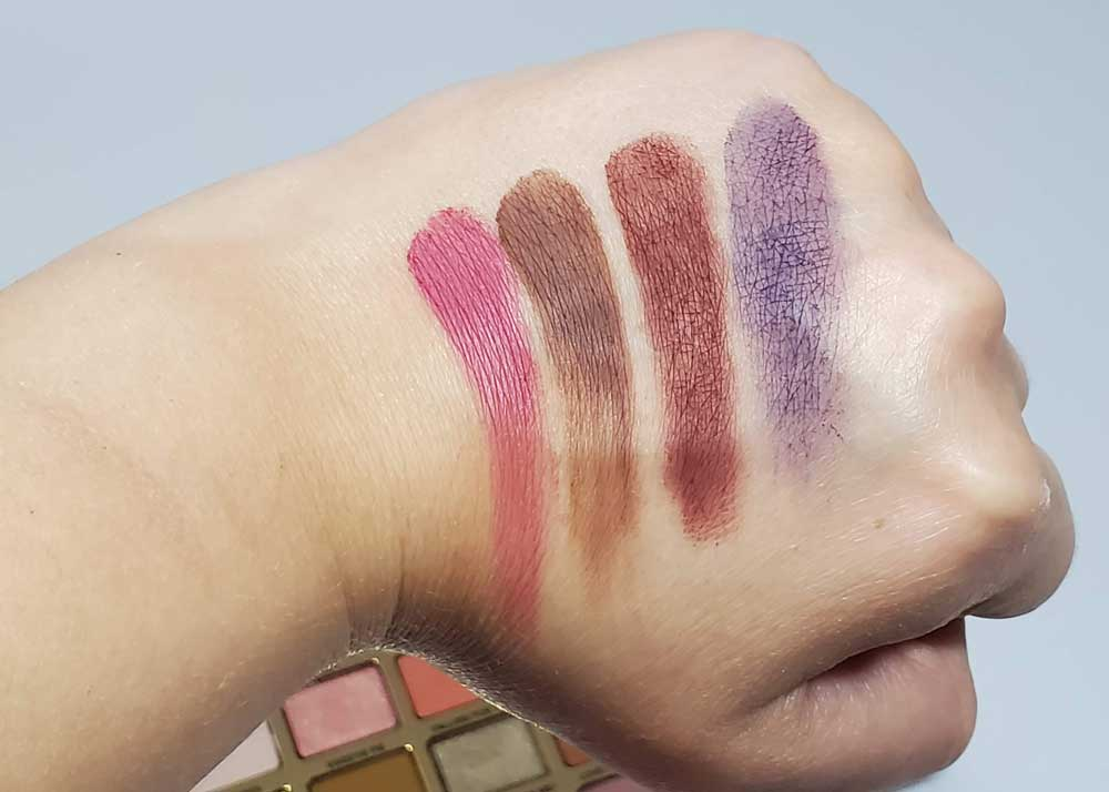 shadow swatches