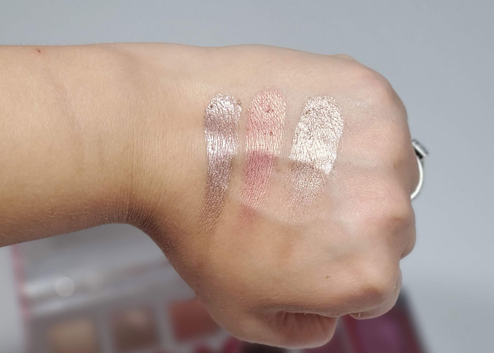 swatches nuetral shimmers
