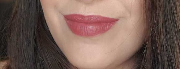 too faced melted matte hot toddy lip swatch