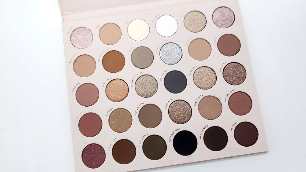 stone cold fox palette review