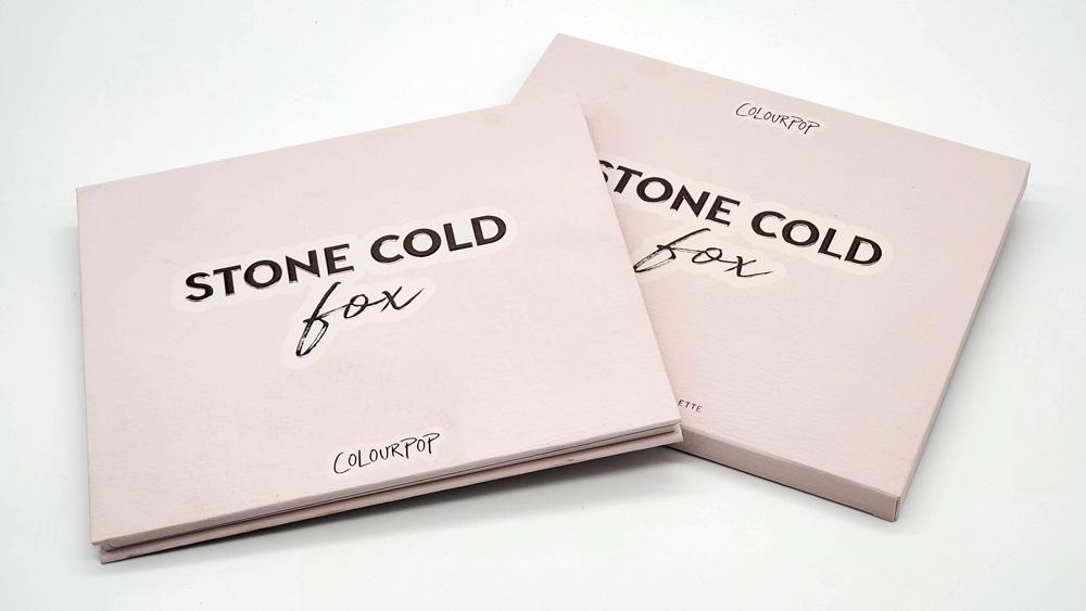 stone cold fox palette