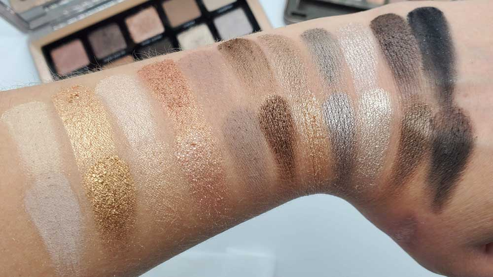 Natasha Denona Glam vs. Naked 2