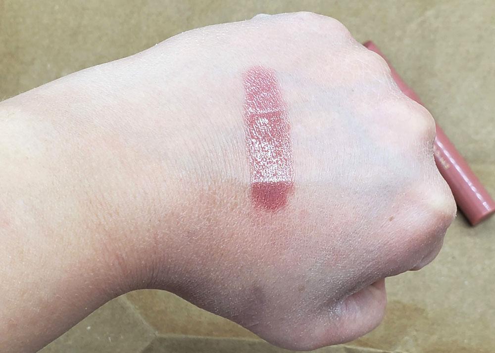 em cosmetics lip cushion venetion rose swatch