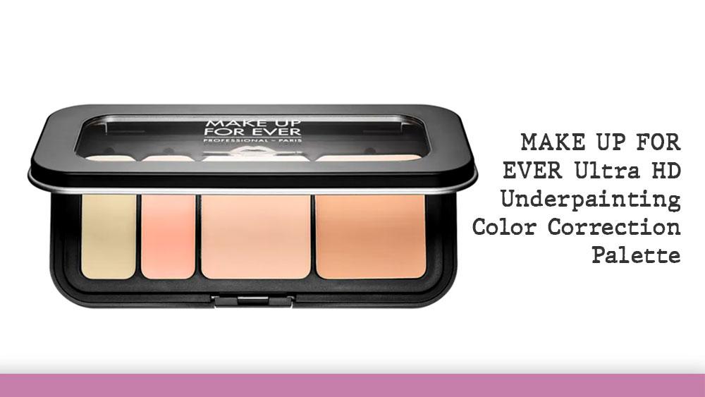 makeup forever ultra hd color correction palette